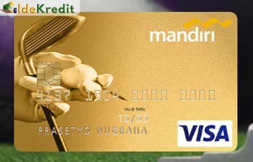 Produk Kartu Kredit Mandiri Golf