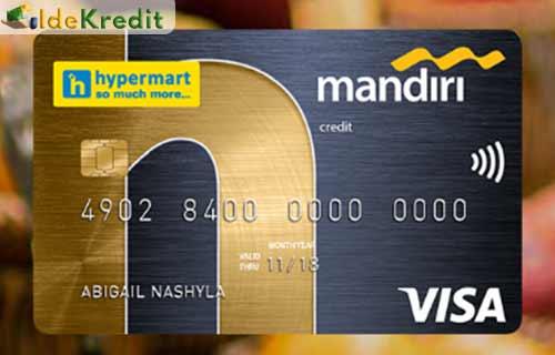 Produk Kartu Kredit Mandiri Hypermart