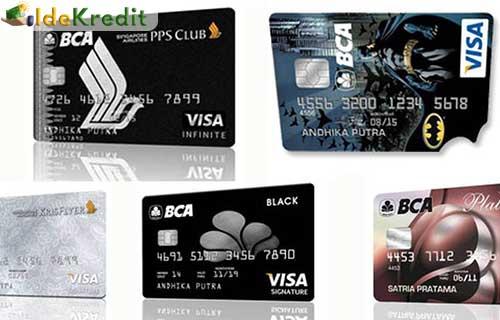 Macam Macam Kartu Kredit BCA Beserta Limitnya