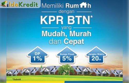 Angsuran KPR Bank BTN