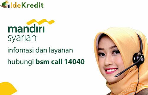 Call Center Pinjaman Mandiri Syariah