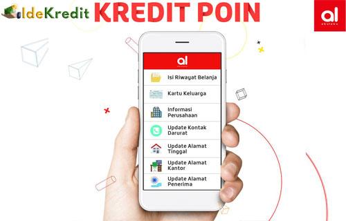 Cara Melihat Kredit Poin Akulaku