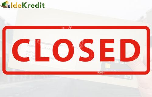 Surat Bukti Penutupan Kartu Kredit BNI