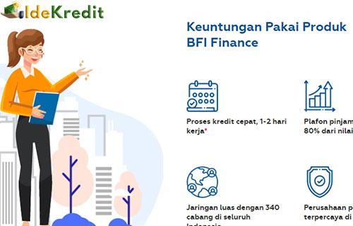 Tabel Angsuran BFI Finance Terbaru