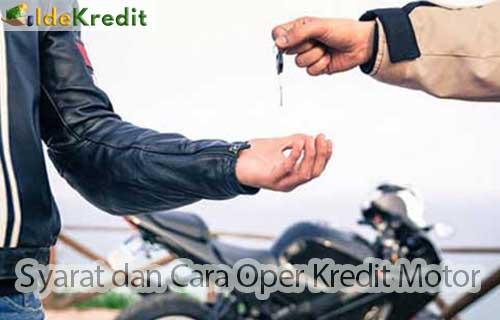 Cara Oper Kredit Motor