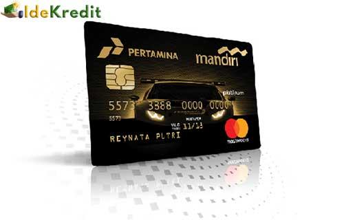 Kartu Kredit Mandiri Pertamina
