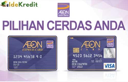 Cara Bayar Kartu Kredit AEON