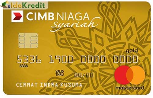CIMB Niaga Syariah Gold MasterCard