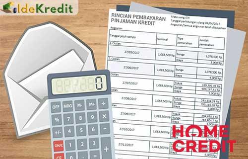 Cara Meminjam Uang di Home Credit