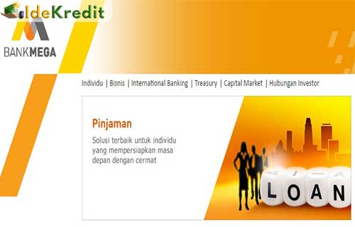 Tabel Angsuran Pinjaman KUK Bank Mega
