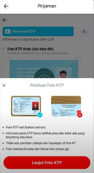Upload Foto Kartu Identitas