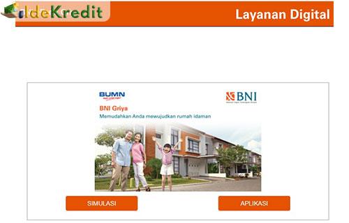 1 Kunjungi website resmi simulasi pinjaman griya BNI