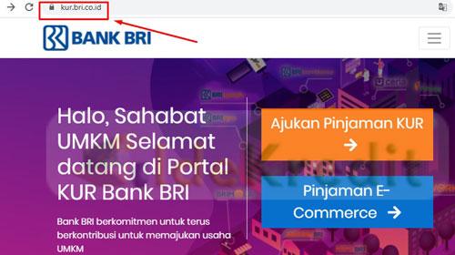 1. Silahkan kunjungi website httpskur.bri .co .id