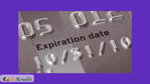 Kartu Kredit Expired atau Habis Masa Berlakunya