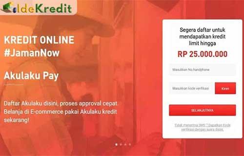 Cara Mengajukan Limit Kredit Akulaku