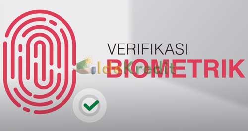 Lakukan verifikasi biometrik