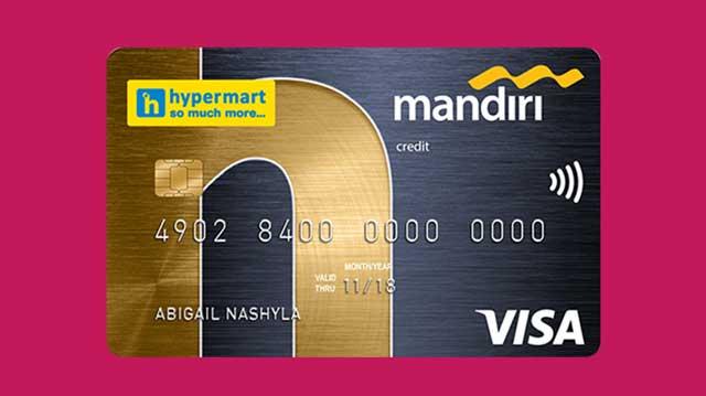 Mandiri Visa Hypermart Gold