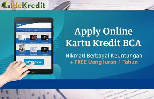 Cara Pengajuan Kartu Kredit BCA Indomaret