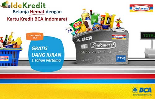 Fasilitas Kartu Kredit BCA Indomaret