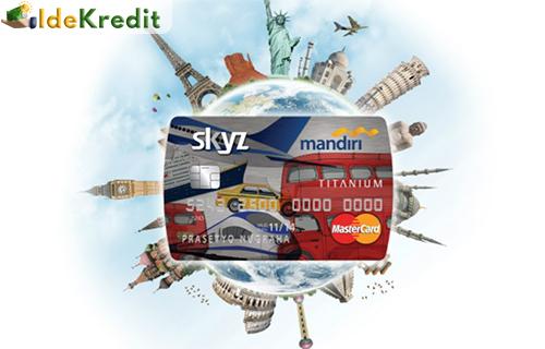 Kartu kredit Mandiri Skyz