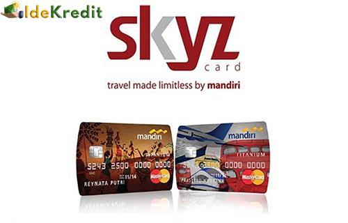 Limit Kartu Kredit Mandiri SKYZ