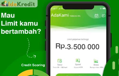 Limit Pinjaman Adakami