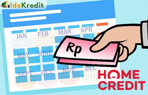 Cara Pelunasan Tagihan Home Credit Lebih Awal