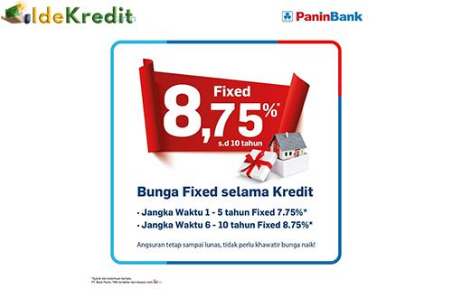 Keuntungan KPR Panin Bank