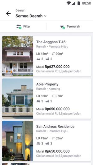 Klik Rumah yang Ingin Dibeli