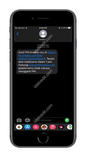 Klik tautan SMS