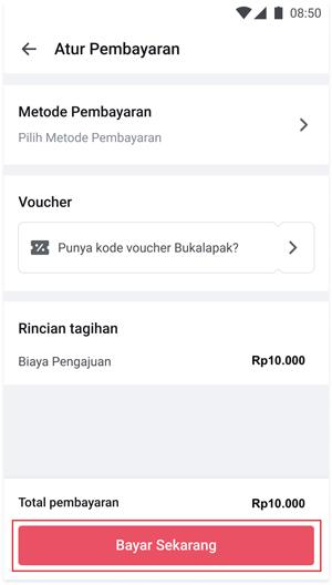 Lakukan Pembayaran