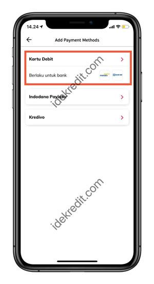 Pilih Aplikasi Mitra