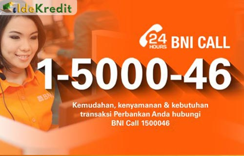 Call Center KUR BNI