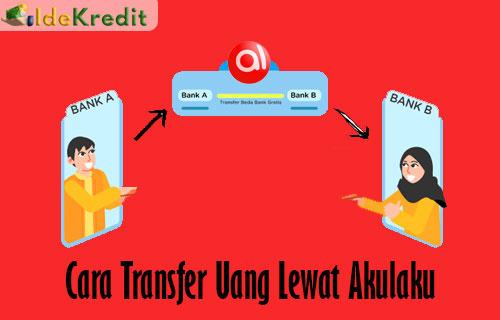 Cara Transfer Uang Lewat Akulaku