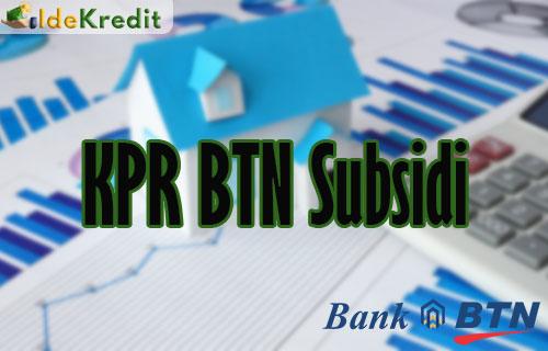 KPR BTN Subsidi