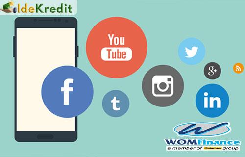 Mengecek Angsuran WOM Lewat Akun Sosial Media WOM