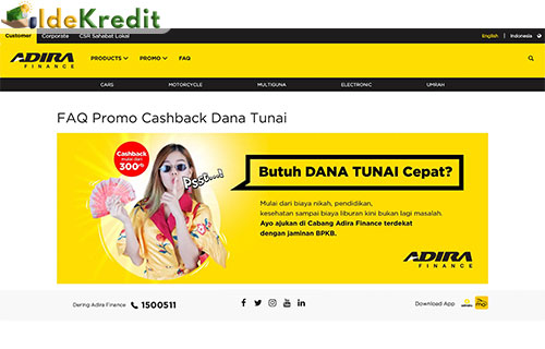 Website Adira Finance