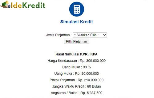 Cara Cek Simulasi Angsuran KPR Clipan Finance