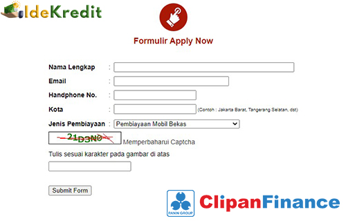 Cara Pengajuan KPR KPA Clipan Finance