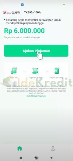 Klik Ajukan Pinjaman