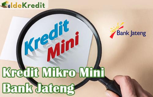 Kredit Mikro Dini Bank Jateng