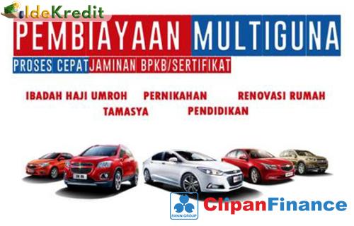 Pembiayaan Multiguna Clipan Jaminan Mobil