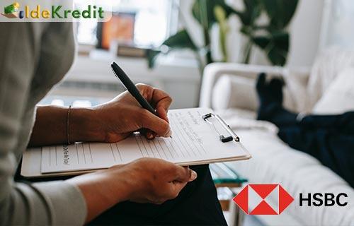 Syarat Pengajuan KTA Personal Loan HSBC