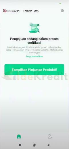 Tunggu proses verifikasi