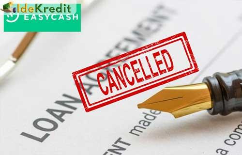 Alasan Membatalkan Pinjaman Online Easy Cash 1