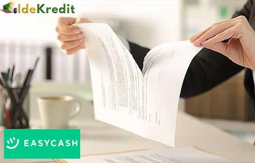Alasan Membatalkan Pinjaman Online Easy Cash