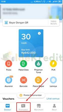 Buka Aplikasi Kredivo 1