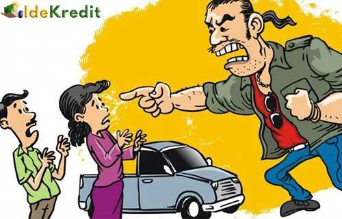 Dikejar Debt Colector