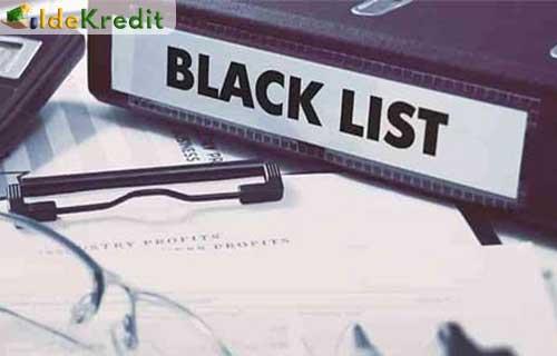 Masuk Daftar Blacklist Kredit Macet