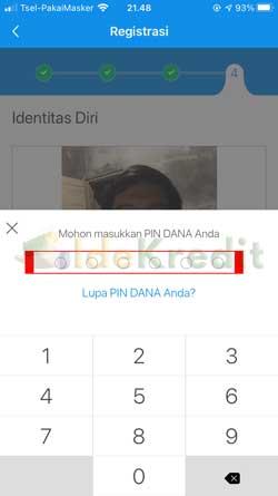 Masukkan PIN Dana